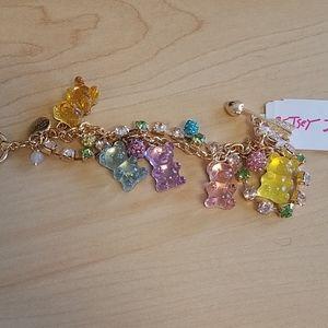 Betsey Johnson gummy bears pastel bracelet…